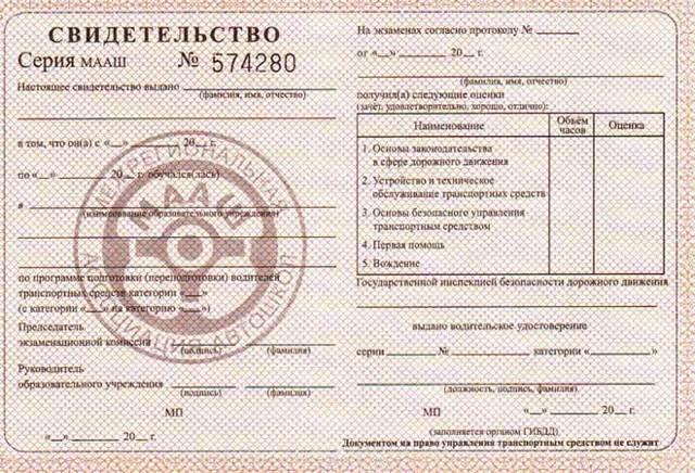 Получение водительского удостоверения в ГИБДД после экзамена: как, где и через сколько дней выдается