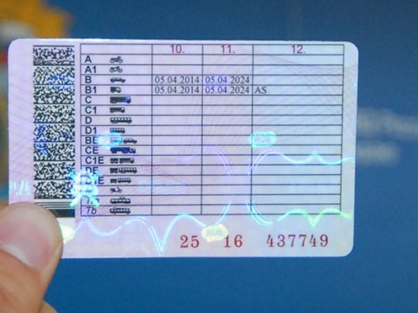 Особые отметки в водительских правах - что означают и как расшифровываются
