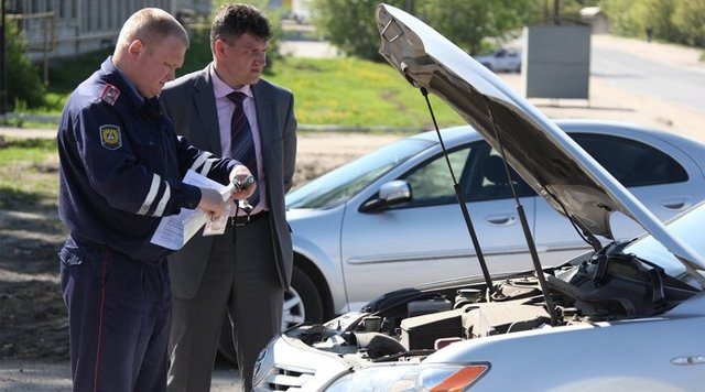Акт осмотра транспортного средства: бланк и образец, требования к акту