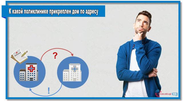 Как узнать к какой поликлинике прикреплен дом по полису ОМС?