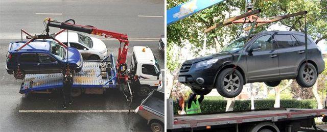 Эвакуация автомобиля с места ДТП - порядок, правила, кто оплачивает
