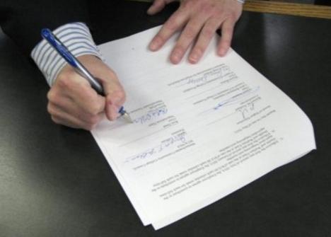 Расписка о возмещении ущерба при ДТП - бланк и образец, как составить