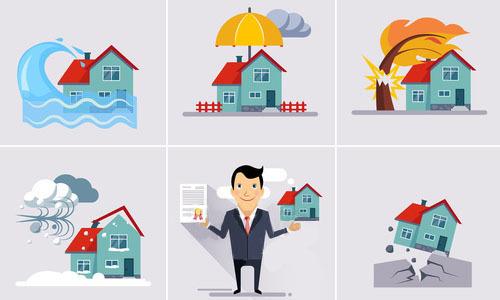 Риски страхования от стихийных бедствий в программах страхования квартир и загородных строений