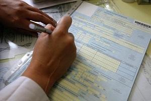 Как заполнить больничный лист - пошаговая инструкция, бланк-образец заполнения