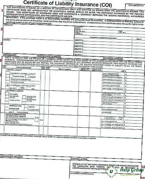Страховой сертификат (insurance certificate) - что это, особенности, содержание, виды